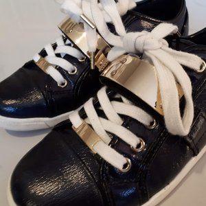 Aldo Portus black and gold sneaker Size 6